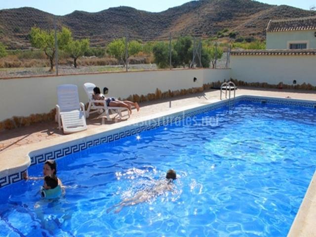 Casa la noria en cartagena murcia - Casa rural murcia piscina climatizada ...