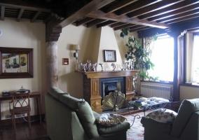 Fachada de la Casa Rural Cantabria
