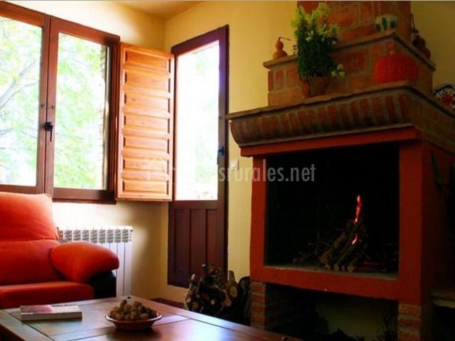 Apartamento buganvilla la huerta del cura en niguelas granada - Casa rural con chimenea en la habitacion ...