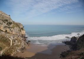 La playa de Liendo
