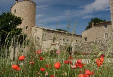 Le Château de la Gabelle - Ferrassières, Drôme