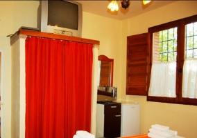 Habitación azahar con decoración rústica