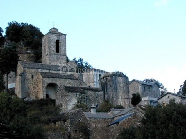 Zona de la Iglesia de Puértolas