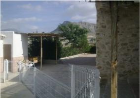 Vistas de la zona de ocio de la casa en el exterior