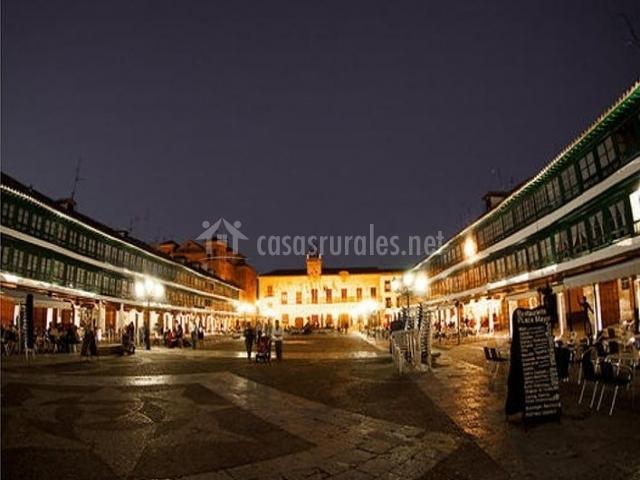 Zona Plaza Mayor de Almagro