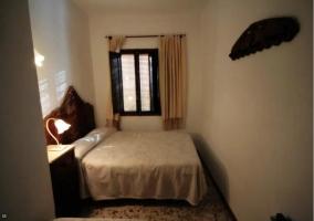 Dormitorio de matrimonio con calefacción