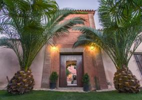 Entrada a la Finca Villa Juan