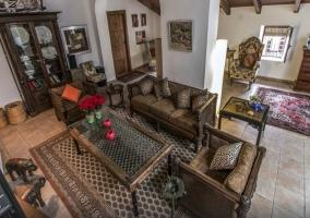 Salón de la Finca Villa Juan