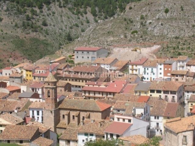 Casa torta apartamentos en valacloche teruel - Casa rural camarena de la sierra ...