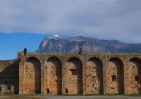 Castillo fortaleza de Ainsa