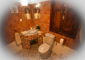 Cuarto de baño original