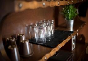 Detalle de los vasos