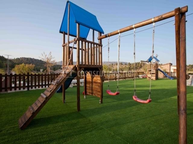casa barriga 4 casas rurales en nerpio albacete On parque infantil casa