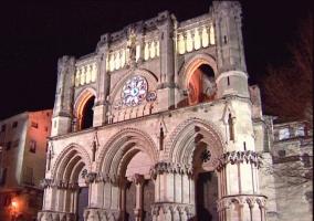 La Catedral de Cuenca por la noche