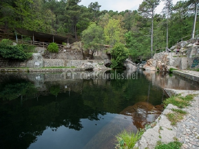 Casa rebollares ii en piedralaves vila for Piedralaves piscina natural