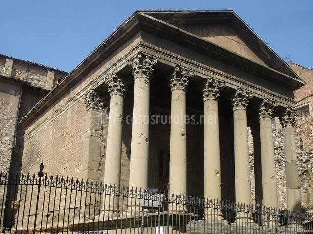 Vic, Templo romano