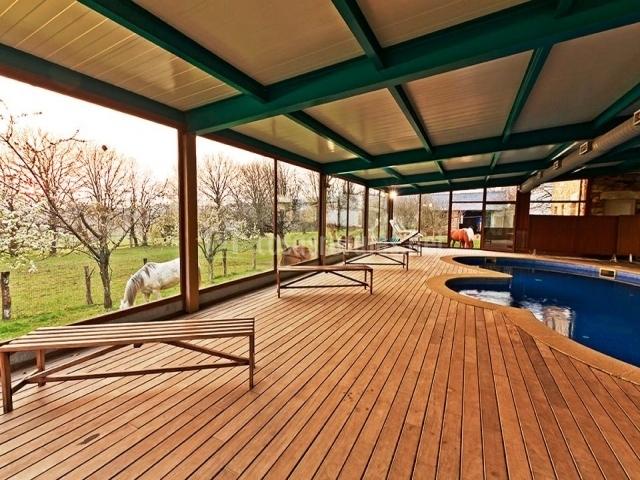 Casa cazoleiro en meira casco urbano lugo - Casa rural con piscina cubierta ...