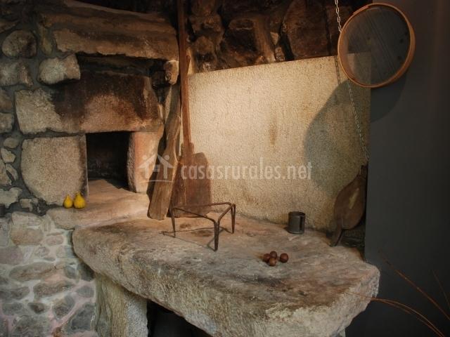Apartamento budi o de la serraseca en oia pontevedra - Encimera de piedra ...