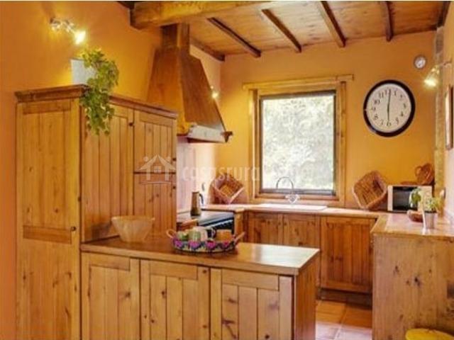 Casa da chavellas en mato chantada san julian lugo - La casa de madera ...