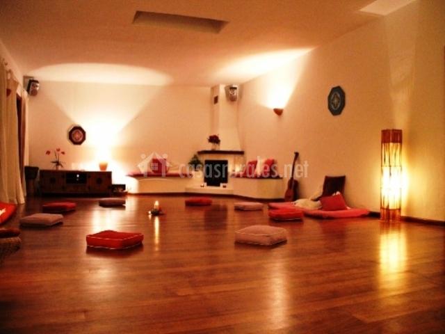 Sala para hacer actividades