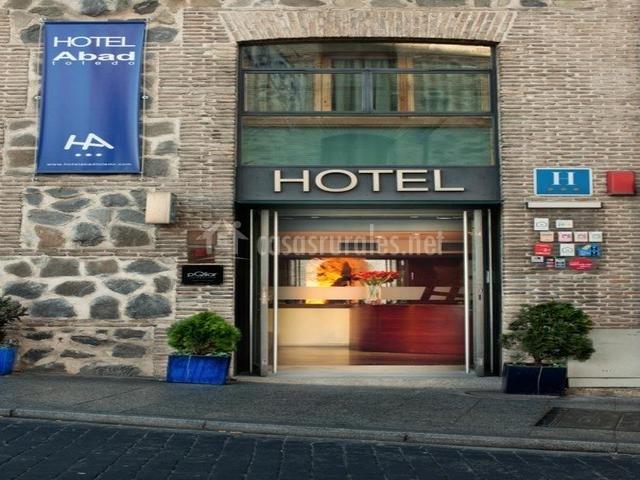 Entrada principal el hotel