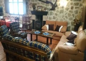 Sala de estar equipada