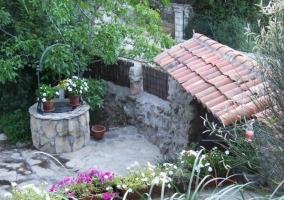 Pozo y tejado