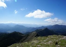 Zona de la sierra con paisaje