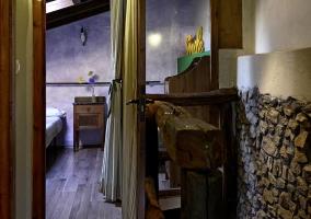 Dormitorio, vista desde fuera