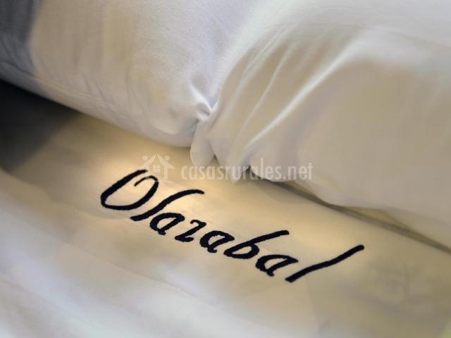 Detalle de las sábanas