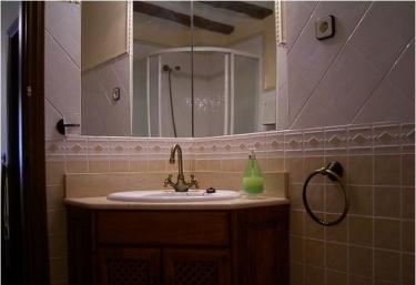 Aseo con ducha y espejos