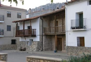 Zona de construcciones típicas de Peralejos
