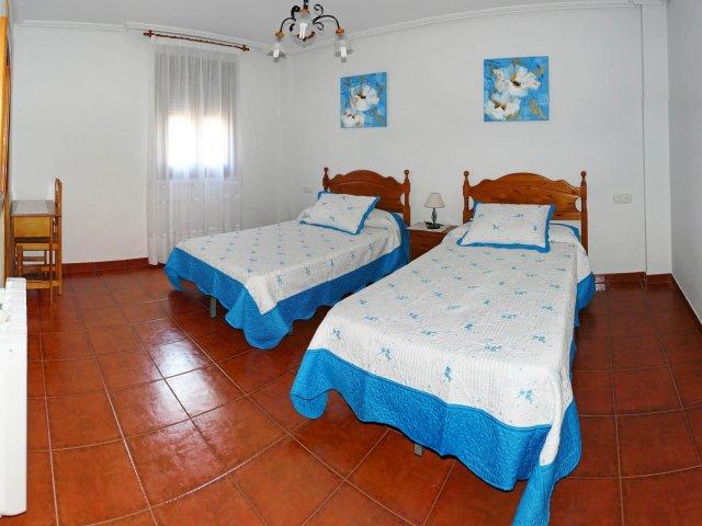 Dormitorio de camas individuales