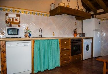 Cocina de la casa equipada en su totalidad