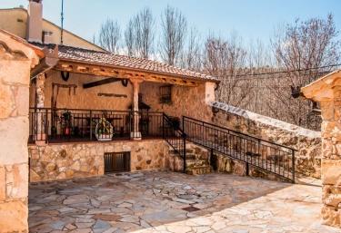 Vistas de la zona exterior de la casa