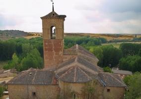Zona de la Iglesia de Caballar