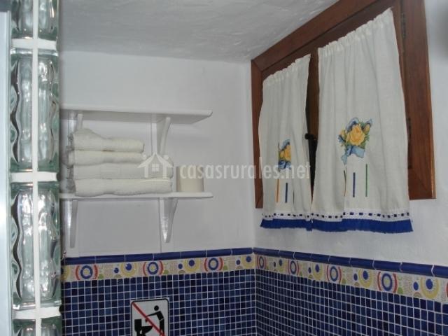 excellent simple good simple bao con paredes de gresite azul with cuartos de bao con gresite with gresite bao with bao gresite with gresite bao - Gresite Bao