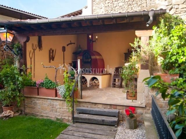 Casa rural el pajar casas rurales en orisoain navarra - Casas rurales con chimenea para dos personas ...