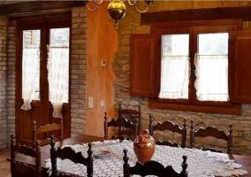 Salón comedor de la casa