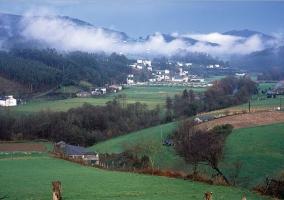 Zona verde de San Tirso de Abres