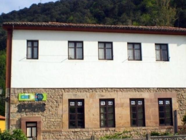 Zona de la biblioteca