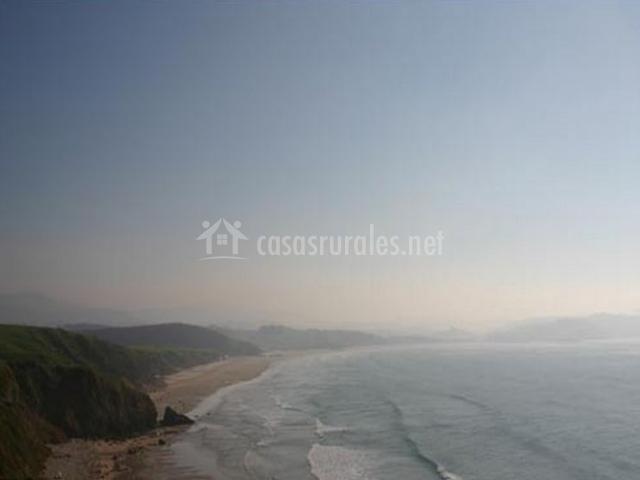 Zona de playa en el entorno