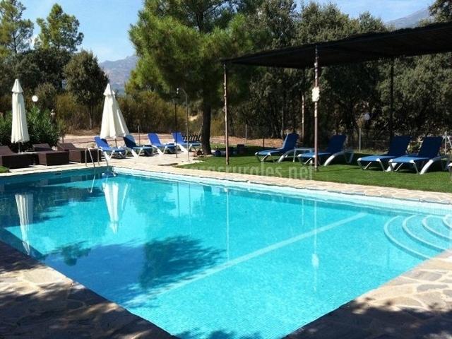 Casa rural el tejarejo en casavieja vila for Hoteles en avila con piscina