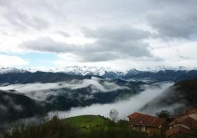 Zona del entorno con niebla