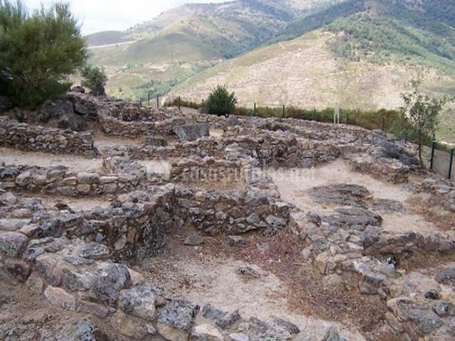 Zona de yacimientos de la Edad de Hierro