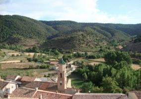 Iglesia y entorno natural