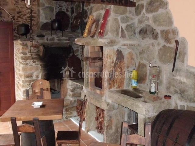 O forno do curro casas rurales en a fenteira boboras - O forno do curro ...