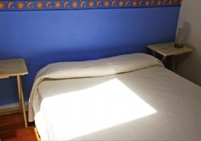 Dormmitorio azul