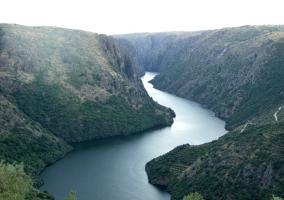 Vista del río Duero