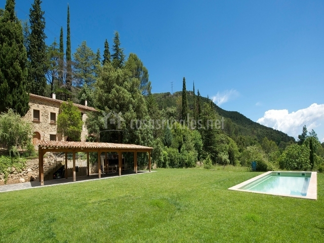 Casa pairal en alcover tarragona for Piscina alcover